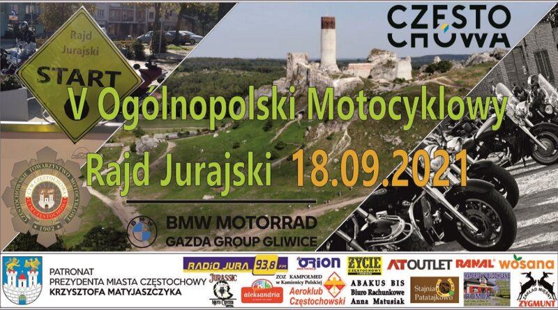 V Ogólnopolski Motocyklowy Rajd Jurajski 2021